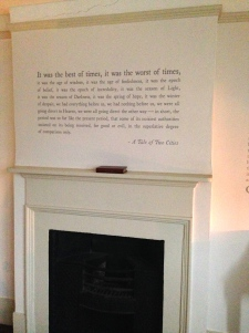 Inside Dickens' house