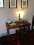 Keats' writing desk