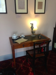 Keats' writing desk