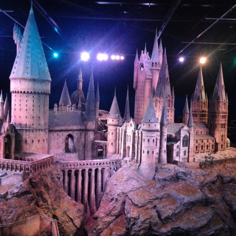 Hogwarts model at Harry Potter Studio Tour